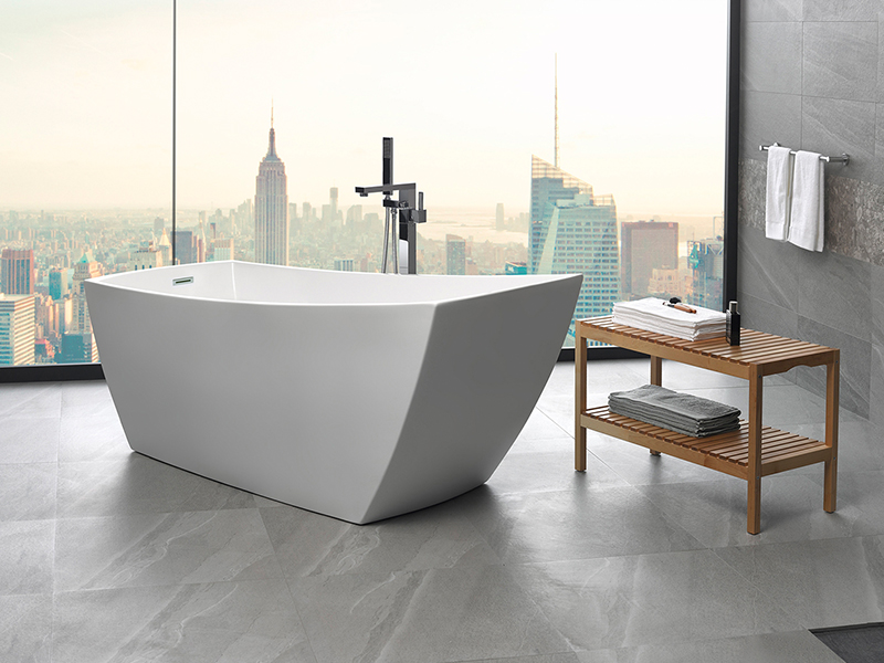 exquisite back to wall freestanding baths in perth